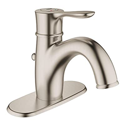 Grohe 23306EN0 Parkfield Single-handle Bathroom Faucet with Escutcheon