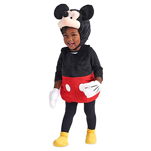 Disney Mickey Mouse Plush Costume for Baby, Multi, 12-18 MO]()