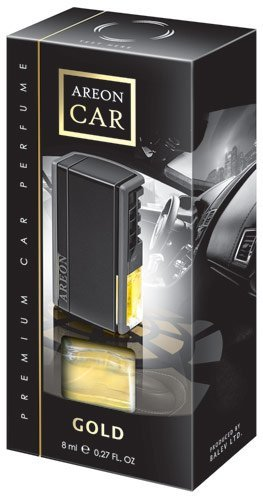 (Areon car Vent-clip Perfume GOLD. Classic fragance. Enjoy your enviroment.)