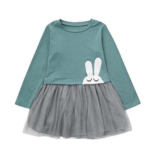 Girls Long Sleeved Dress - 9