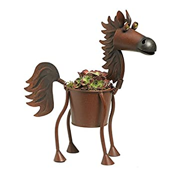 Fireball The Horse Indoor Or Outdoors (garden) Décor Plant Stands. Holds  4u0026quot;