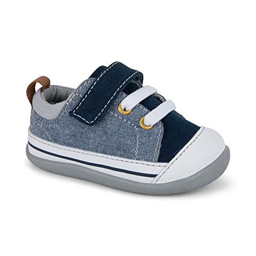 (See Kai Run Boys' Stevie II INF First Walker Shoe, Blue Denim, 5 M US)