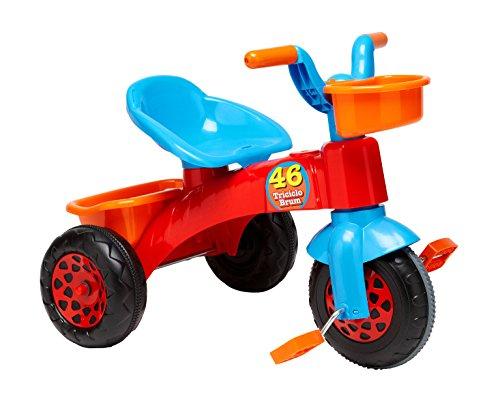 Globo Toys Globo - 40300 Vitamina_G Plastic Trike with Baske