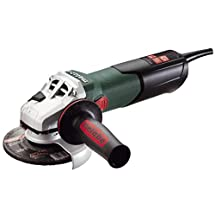 "Metabo WEV15-125 HT Lock-On 13.5 Amp 2,800-9,600 rpm Angle Grinder with Electronics and High Torque, 4.5""/5"""