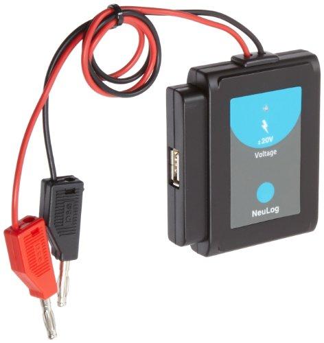 NEULOG NUL201 Voltage Logger Sensor, 15 bit ADC Resolution, 1 Percent Accuracy