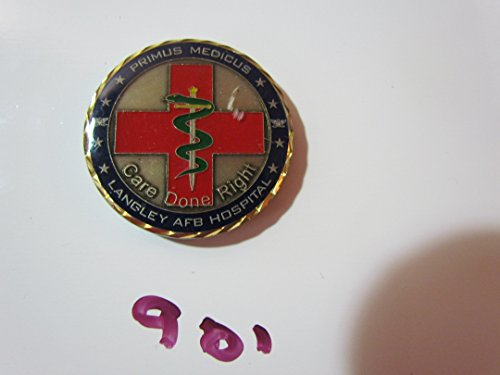US Air Force 633d Medical Group Presented by the Commander Challenge Coin ()