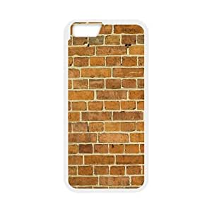Brick Wall Texture iPhone 6 Plus 5.5 Inch Cell Phone Case White Protect your phone BVS_726577