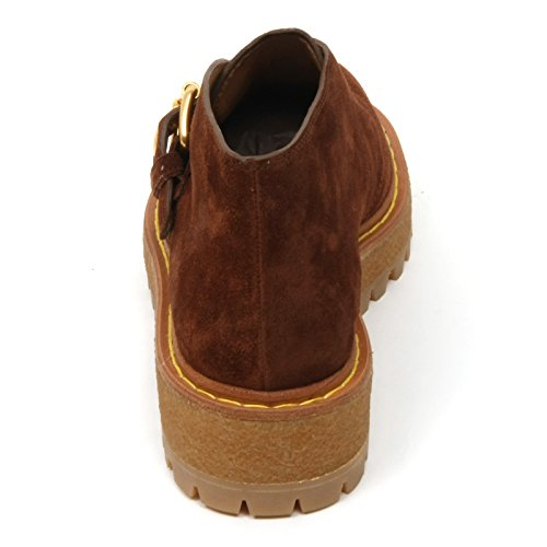 Marrone B9688 Scarpe Scarpa Shoe Scamosciato Donna Car Woman Marron nzw5YxqqI