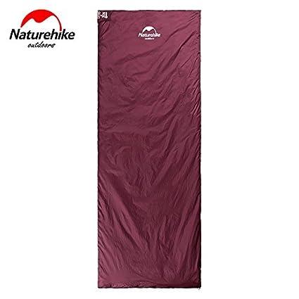 ZeleSouris – Saco de dormir Envelope Sleeping Bag portátil Super ligero ultra-économie del espacio para viaje/senderismo/trekking/Camping