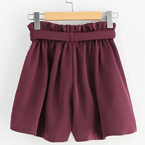 Da In Taschino Retr Elastici Casual Pantaloncini Vita SOMESUN PqTw77