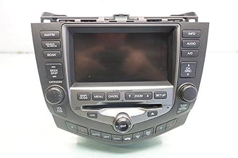 2006 2007 Honda Accord 2-DOOR NAVIGATION CD RADIO PLAYER RECEIVER 39177-SDN-L51Z (Honda Accord Navigation Disc)