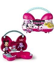 Disney Minnie Bowckets – handtas verandert in een speelset met 1 verrassingsfiguur (Minnie of Daisy) en accessoires; speelgoed voor kinderen vanaf 3 jaar