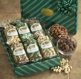 Amazon com : Satisfying Six-Almond Brothers Gourmet Nut Gift