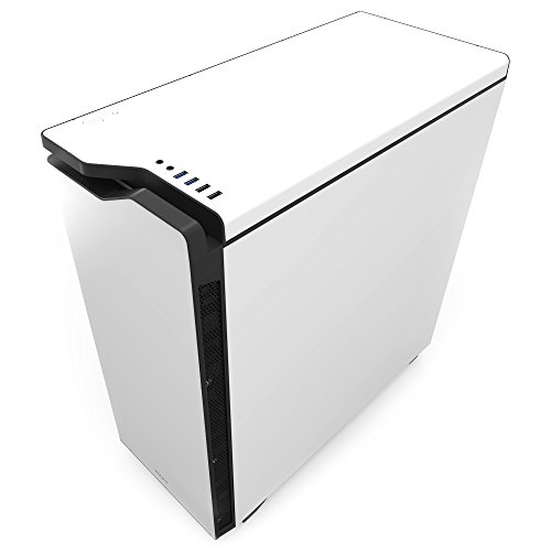 NZXT H440 Mid Tower Computer Case, White/Black (CA-H442W-W1)