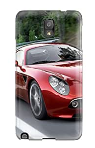 Rugged Skin Case Cover For Galaxy Note 3- Eco-friendly Packaging(alfa Romeo 8c 5)