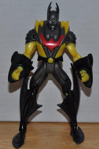 Batman 2000 (Yellow & Silver Suit) Batman Beyond - DC Universe Justice League Action Figure JLA JLU - Collectible Replacement Figure Loose (OOP Out of -
