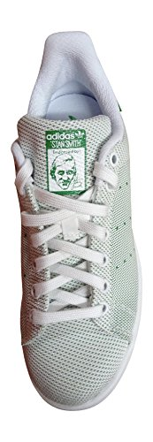 Sneaker Adidas Stan Smith Uomo Bianco Verde Bb5793