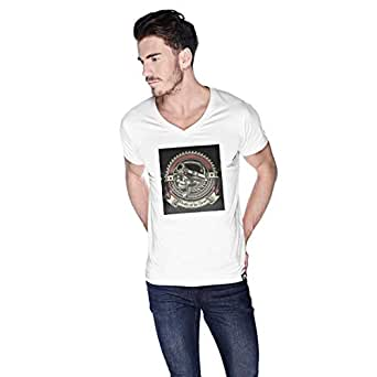 Creo Pirates Of The Desert Bikers T-Shirt For Men - L, White