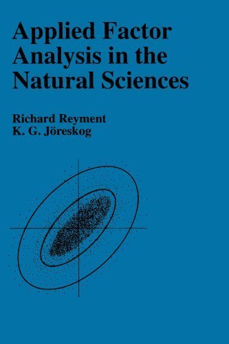 Applied Factor Analysis in the Natural Sciences by Richard A. Reyment (1996-09-28)