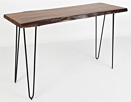 Jofran 1780-4 Nature s Edge Console Table 50 W X 18 D X 30 H, Acacia Finish, Set of 1