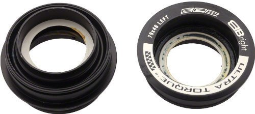 Campagnolo 2014 Ultra Torque Road Bicycle External Bottom Bracket Cups (Right Cups - 51mm - EPS Compatible) by Campagnolo