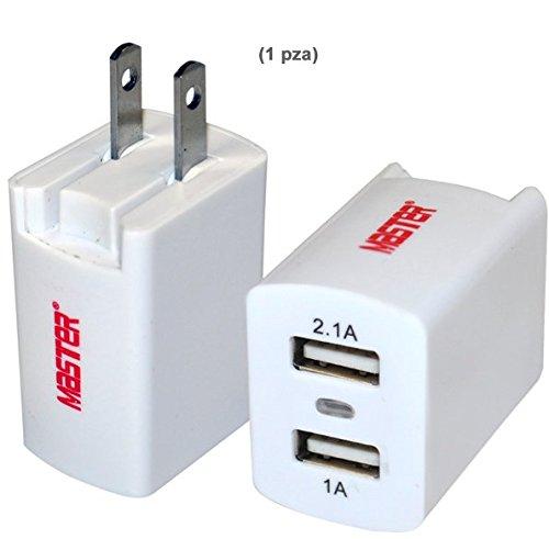 Master- Cargador rápido y universal (celulares, tablets, powerbank, radios, lámparas etc) con 2 salidas, capaz de cargar...