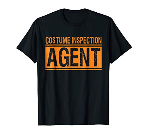 Costume Inspection Agent Halloween Costume T-shirt