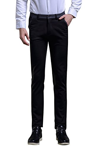 Wholesale TALITARE Mens Casual Wear Slim Fit Dress Pant Wrinkle-free Suit Pant free shipping