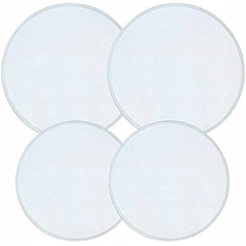 Reston Lloyd Electric Stove Burner Covers, Set of 4, White