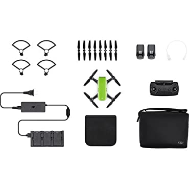 DJI Spark, Fly More Combo, Meadow Green