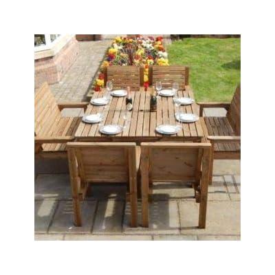 wooden garden dining furnitore