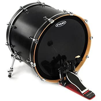 evans emad onyx bass drum head 22 inch musical instruments. Black Bedroom Furniture Sets. Home Design Ideas
