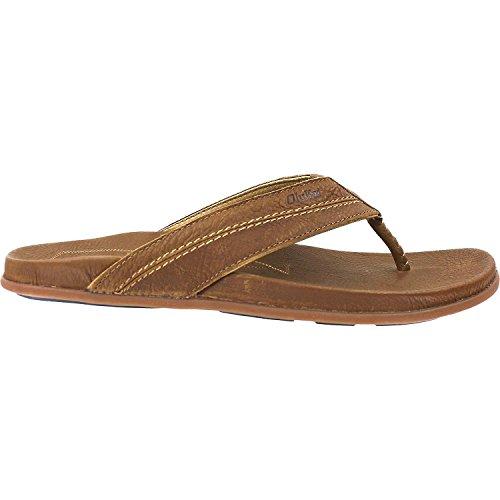 6b7764640c48 OLUKAI MEA Ola - Men s Tan Dark Java 11 - 10138-3448   Sandals ...