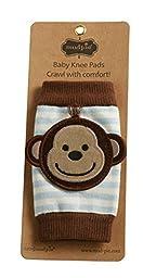 Mud Pie Baby-Boys Newborn Monkey Knee Pads (0-12 Months)