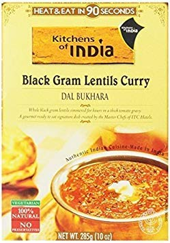 (Kitchens Of India Ready To Eat Dal Bukhara, Black Gram Lentil Curry, 10-Ounce Boxes (Pack of 6) ( Value Bulk Multi-pack) )