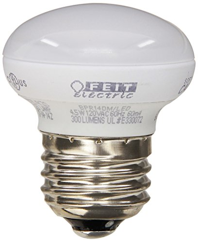 Feit BPR14DM/LED 4.5-watt Dimmable LED R14 Mini Reflector, 40W Equivalent