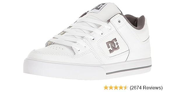 Amazon.com  DC Men s Pure Skate Shoe  Dc  Shoes a4168c8d08cb