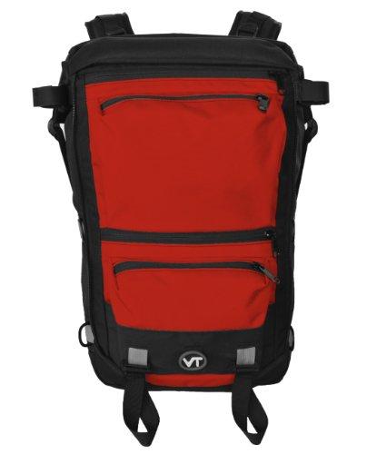 VenTerra Men's Adventure 30 Waterproof Backpack, Red, Large