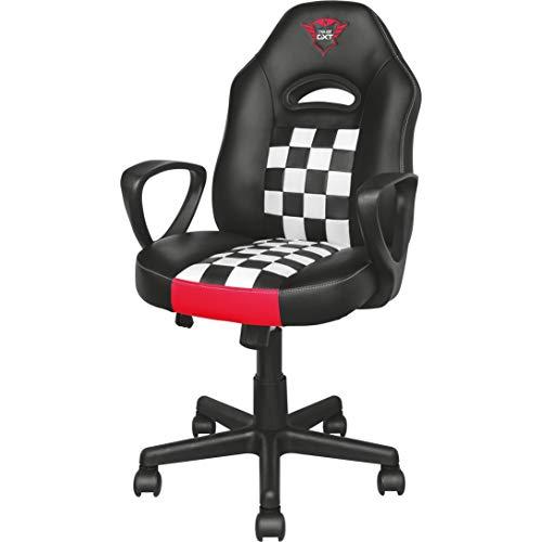 Trust Gaming 22876 - Silla de escritorio para videojuegos, color negro