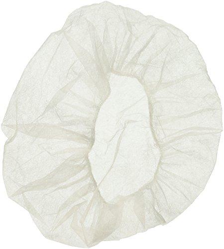Nurse/Bouffant Cap (Hairnets), White, Box of 100 Pieces - 21