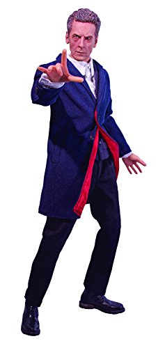 [Big Chief Studios Doctor Who: The Twelfth Doctor Series 8 1:6 Scale Limited Edition Collector Action] (Peter Capaldi Twelfth Doctor Costume)