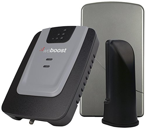 weBoost Home 3G Cell Phone Signal Booster Kit for Home and Office – Enhance Your Signal up to 32x. Can Cover up to 1500 sq ft or Small Home. For Multiple Devices and Users. (Home Network Kit)