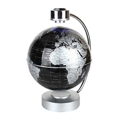 Magnetic levitation floating world map globe 8 rotating planet magnetic levitation floating world map globe 8 rotating planet earth globe ball with led desk display gumiabroncs Choice Image