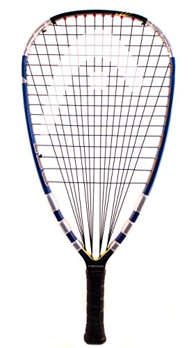 "Head Liquid Metal 190 3 5/8"" Grip Racquetball Racquet"