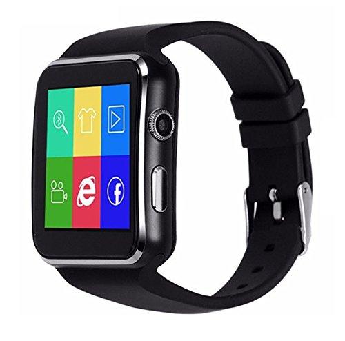 Amazon.com: X6 Smartwatch Support Micro SIM Card Camera work ...