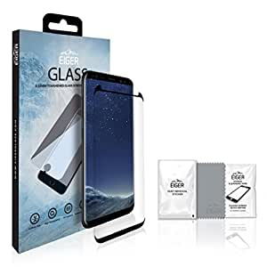 Eiger 3D CF Screen Protector Glass Samsung S8 Clear