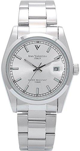 Izax Valentino watch all stainless steel bar index Silver IVG-250-1 - Mens Valentino Watch