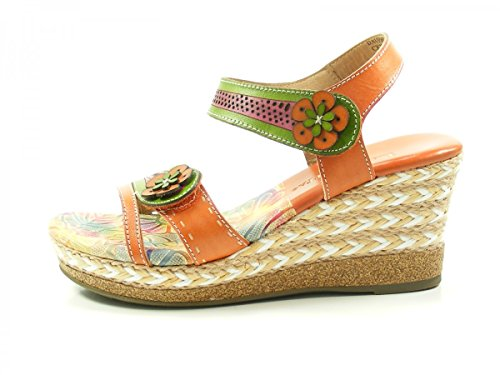 Laura Femme Orange Mode Dauphin CX2713 6 Vita Mules 06 RRUqSCw