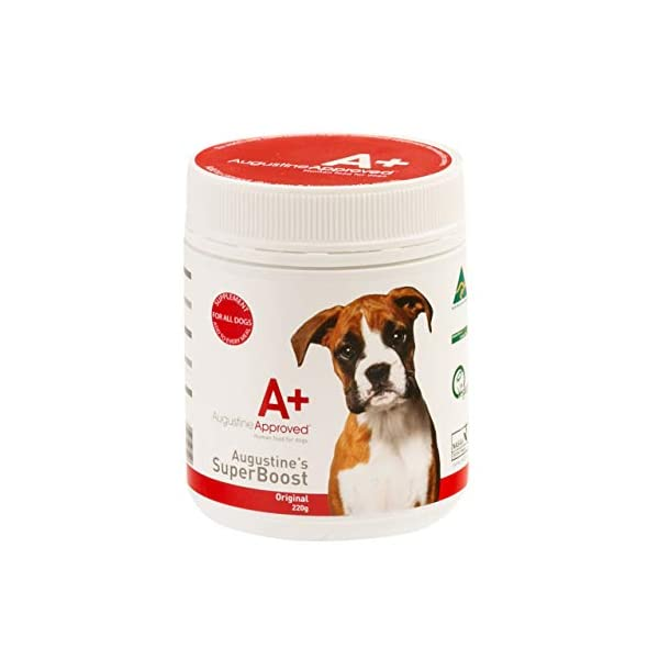 Augustine Approved Superboost Original Whole Food Supplement for Dogs Cats and Pets (220g) 1
