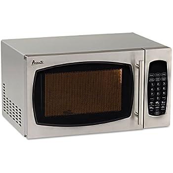 Amazon Com Sunbeam 0 9 Cu Ft Microwave Oven Black